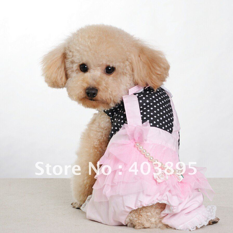Cute Dog Dresses Dress The Dog Clothes For Your Pets