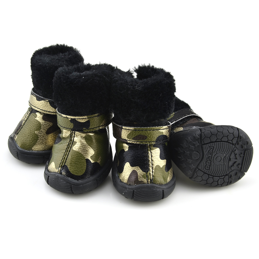 Camo Dog Boots photo - 1