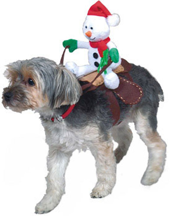 Dog Christmas Costume photo - 1