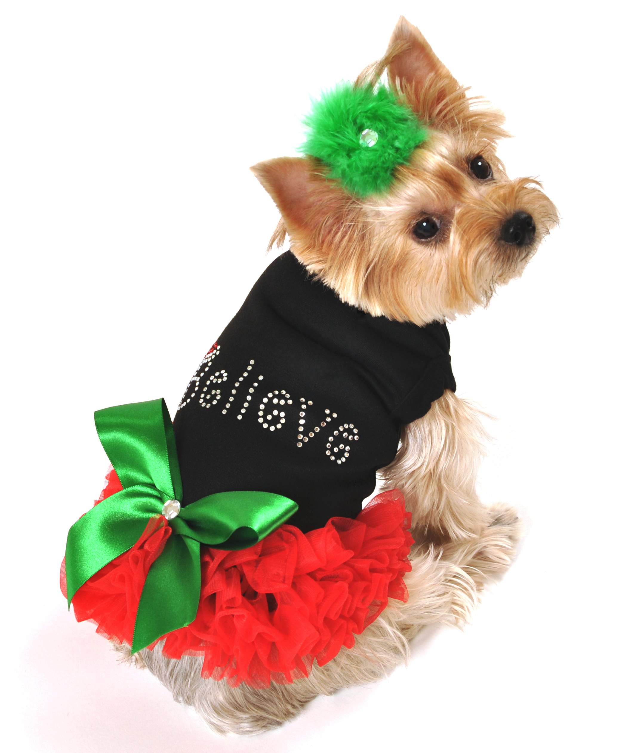 Dog Christmas Dress photo - 1