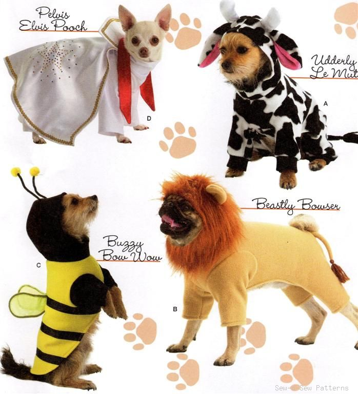 Dog Costume Pattern photo - 1