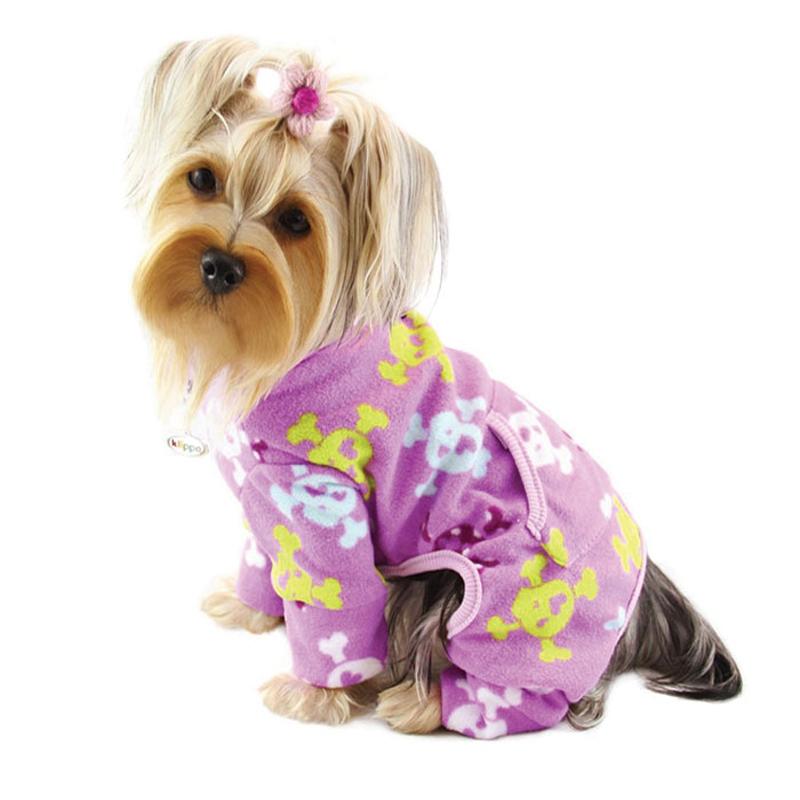 Dog Fleece Pajamas photo - 1