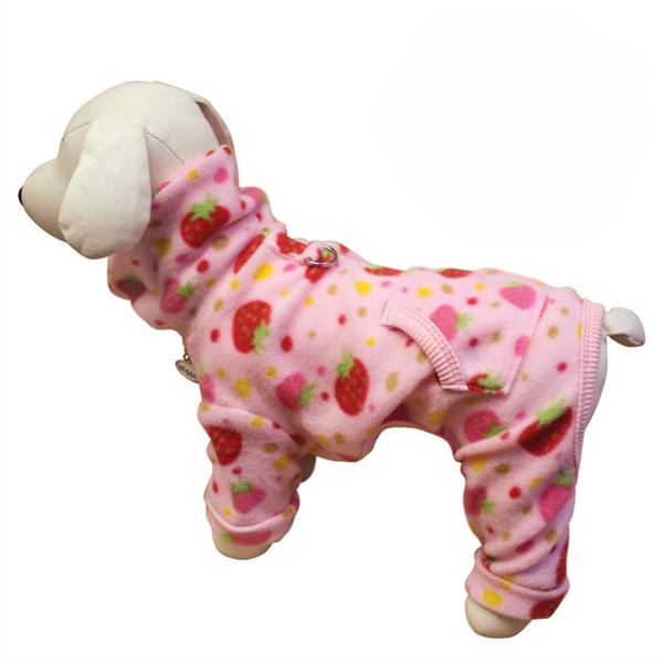 Dog Fleece Pajamas photo - 2