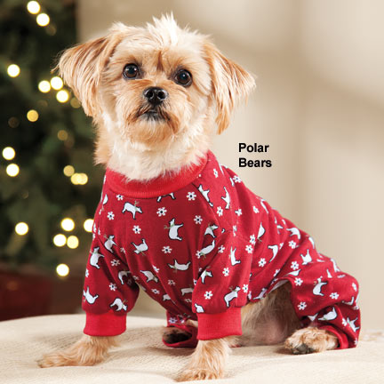 Dog Pajamas Christmas photo - 1