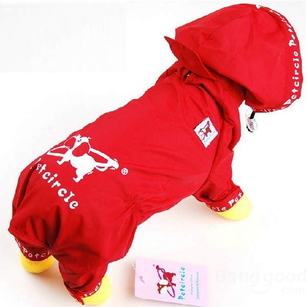 Dog Raincoat With Legs photo - 1