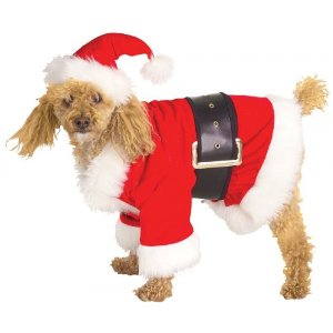 Dog Santa Suits photo - 3