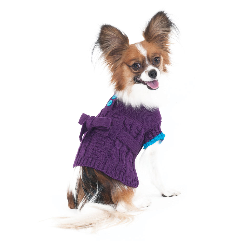 Dog Sweater Dress photo - 1