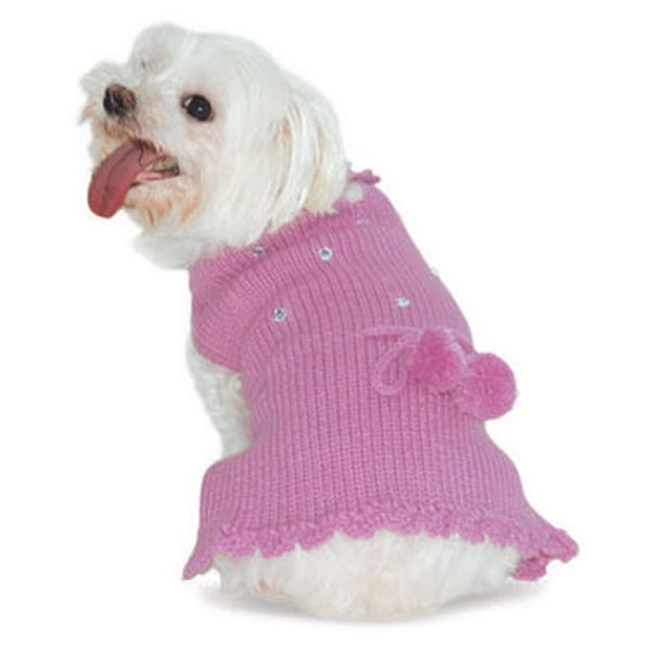 Dog Sweater Dress photo - 2