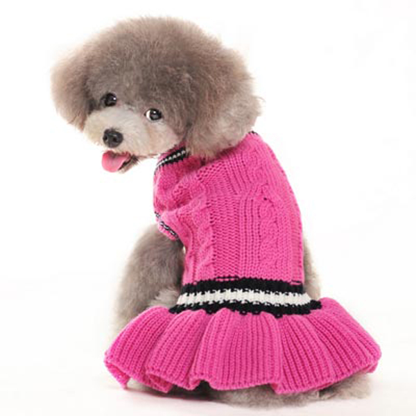 Dog Sweater Dress photo - 3