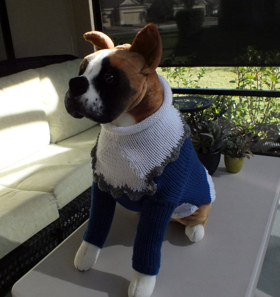 Dog Sweater With Sleeves photo - 3