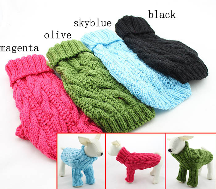 Dog Sweaters With Sleeves photo - 2