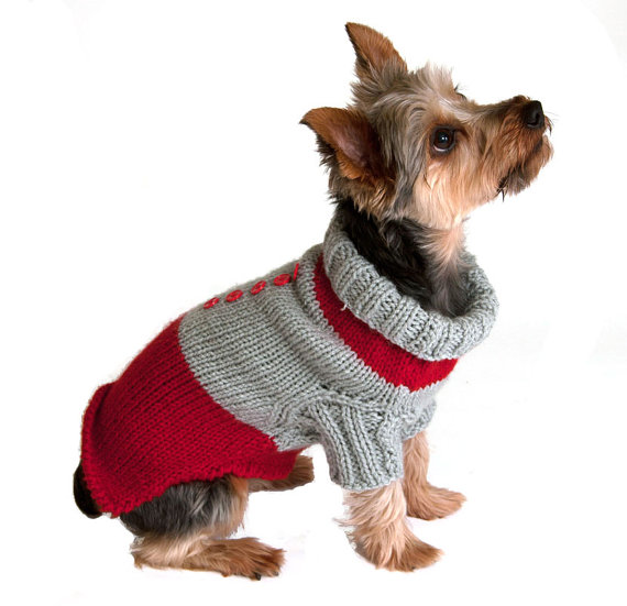 Dog Sweaters With Sleeves photo - 3