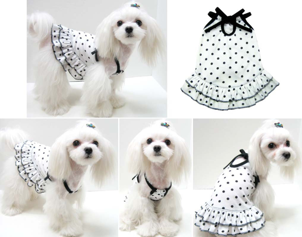 Dress For Puppy Dress The Dog Clothes For Your Pets