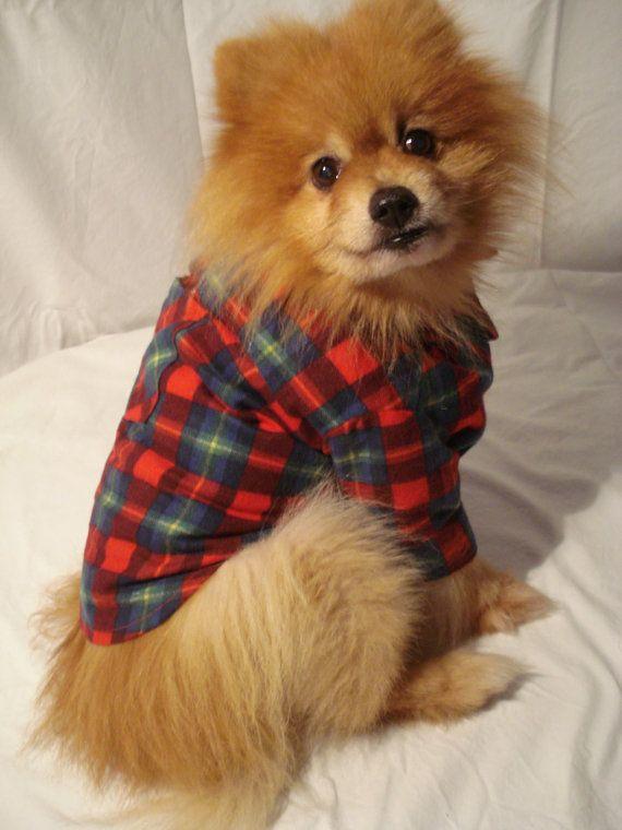 Flannel Dog Shirt photo - 1