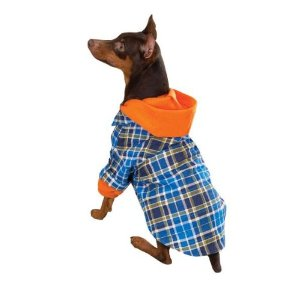 Flannel Dog Shirt photo - 2
