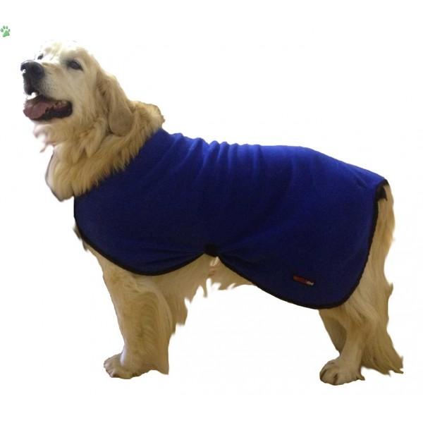 Fleece Dog Coat photo - 1