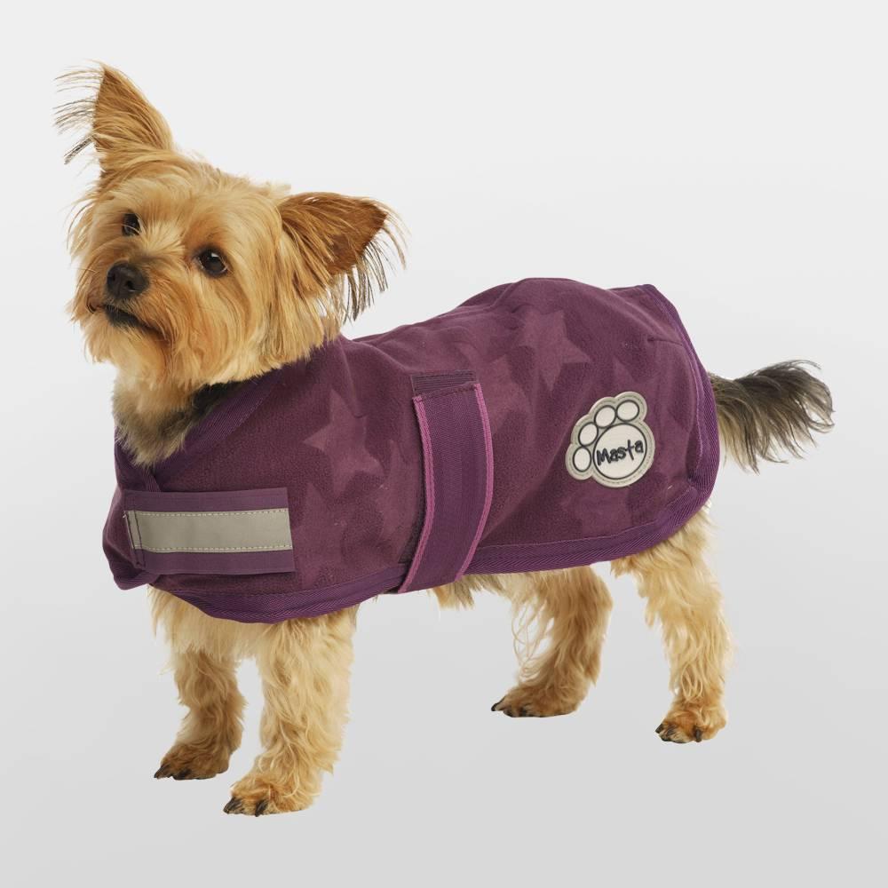 Fleece Dog Coat photo - 2