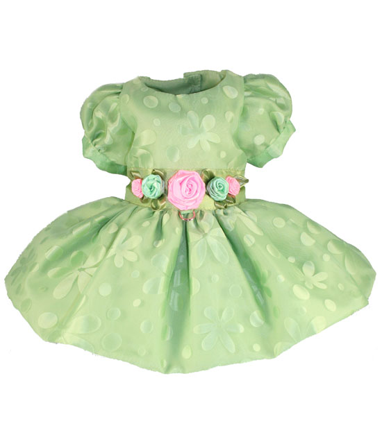 Green Dog Dress photo - 1
