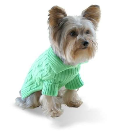 Green Dog Sweater photo - 3