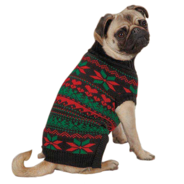 Holiday Dog Sweater photo - 1