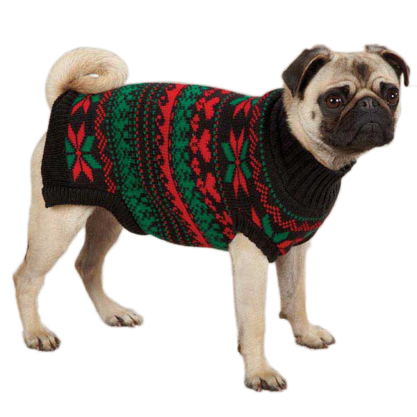 Holiday Dog Sweater photo - 2