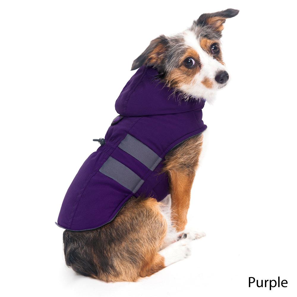 Hooded Dog Coat photo - 1
