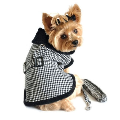 Houndstooth Dog Coat photo - 1