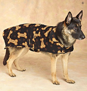 Large Dog Coat Pattern photo - 1