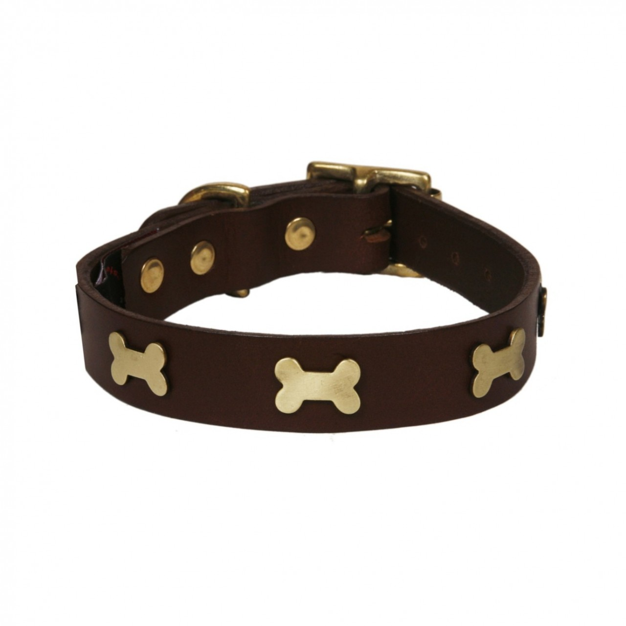 Leather Dog Collar photo - 1