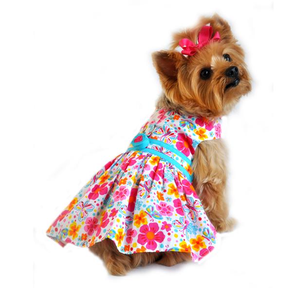 Pink Dog Dress photo - 1