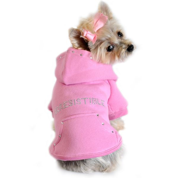 Pink Dog Hoodie photo - 1