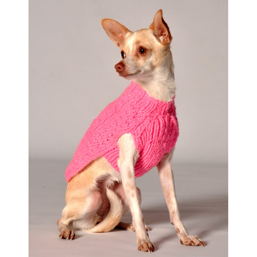 Pink Dog Sweater photo - 1