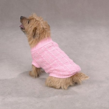 Pink Dog Sweater photo - 3