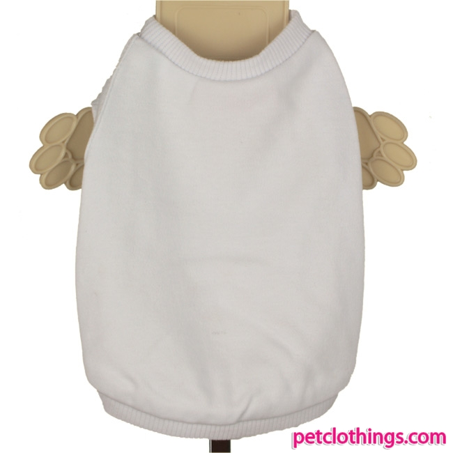 Plain White Dog T Shirts photo - 1
