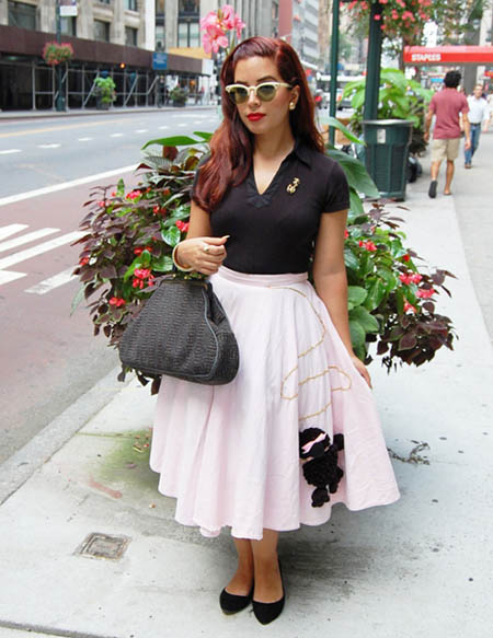 Poodle Skirt Hairstyles photo - 2