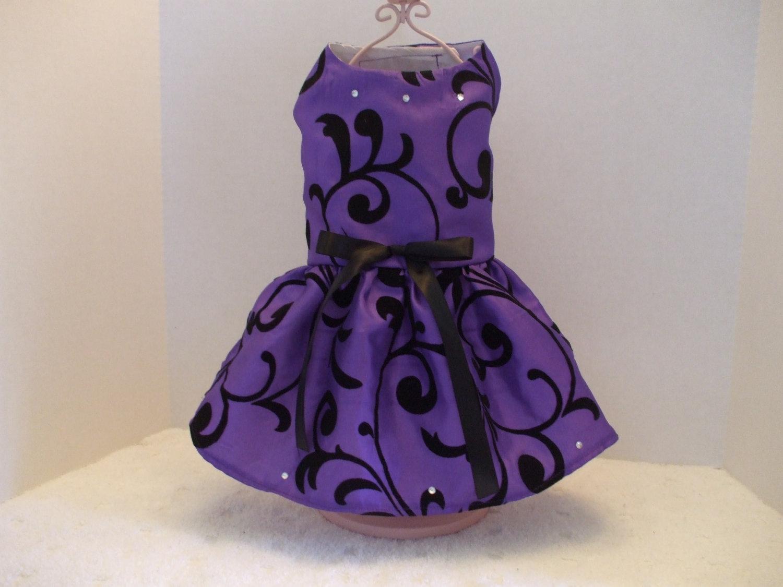 Purple Dog Dress photo - 1