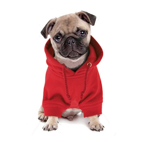 Red Dog Hoodie Dress The Dog Clothes For Your Pets