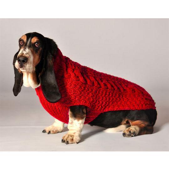 Red Dog Sweater photo - 1