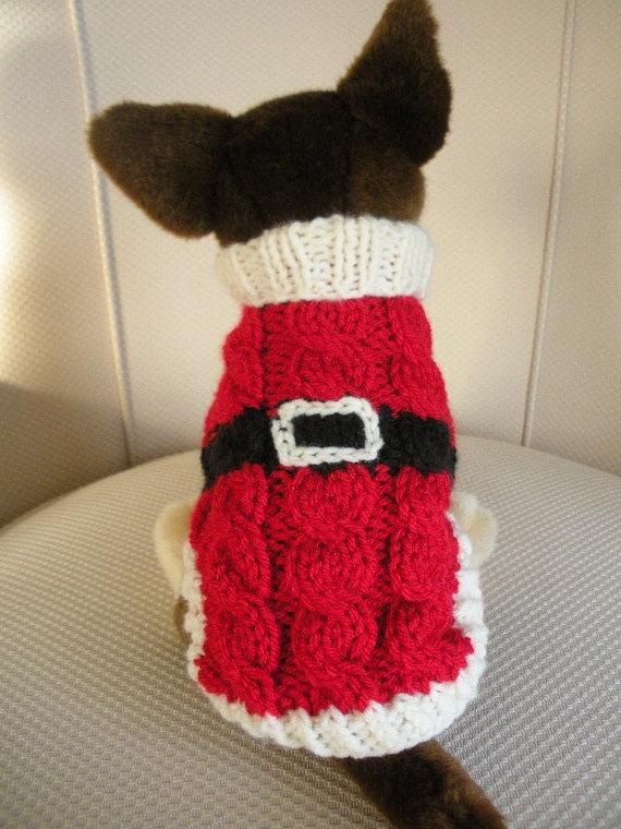 Santa Dog Sweater photo - 1