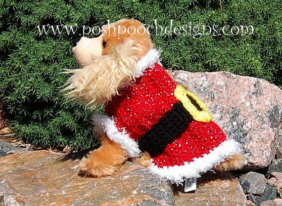 Santa Dog Sweater photo - 3