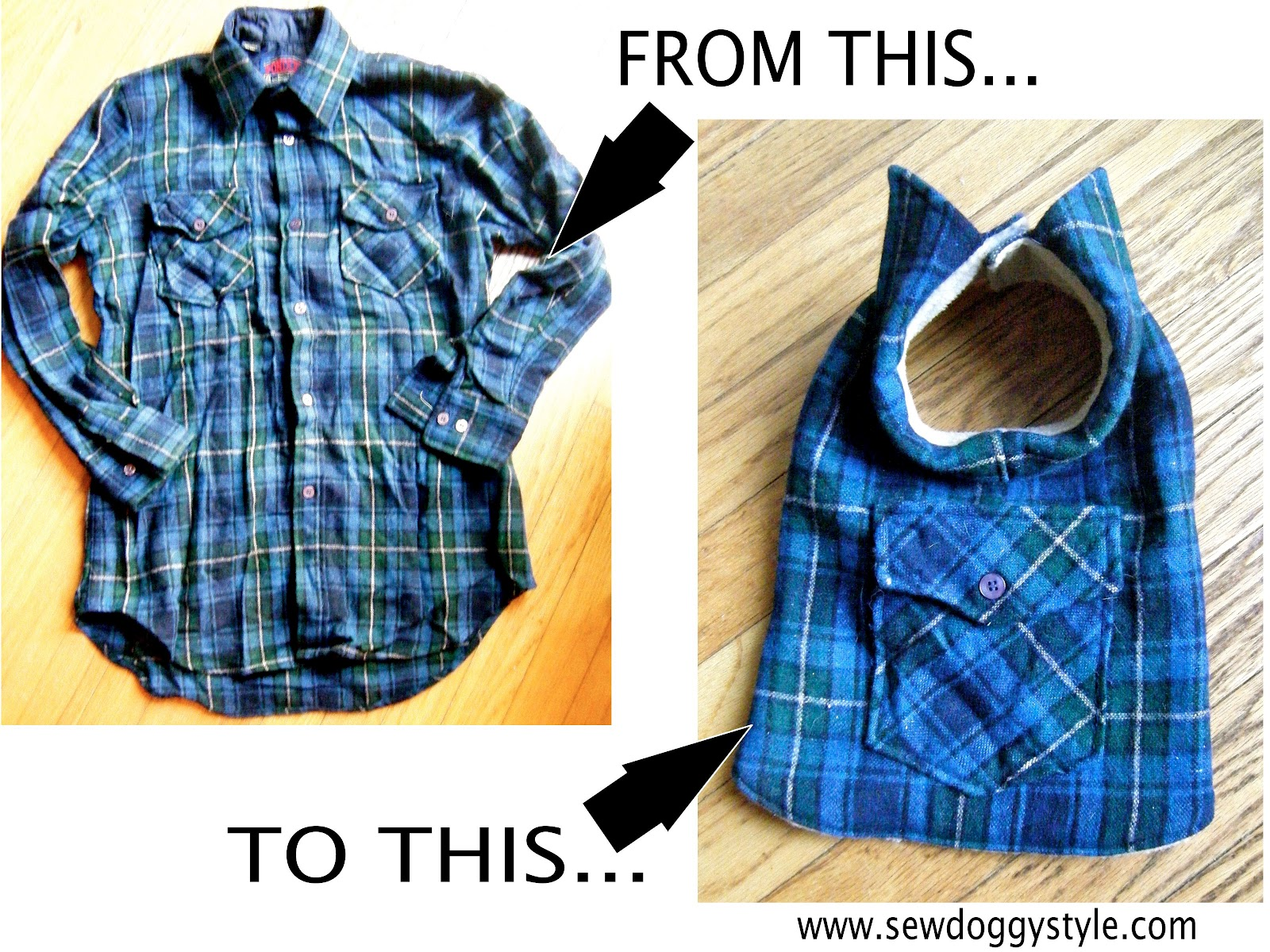 Sew A Dog Coat photo - 1
