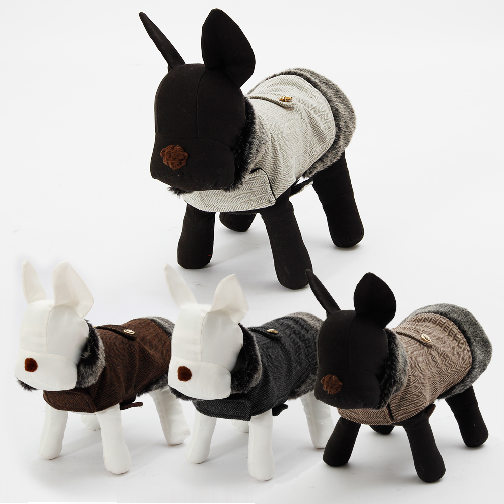 Warm Winter Dog Coats Dress The Dog Clothes For Your Pets