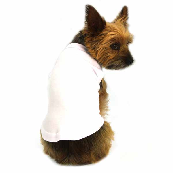 White Dog Shirt photo - 2