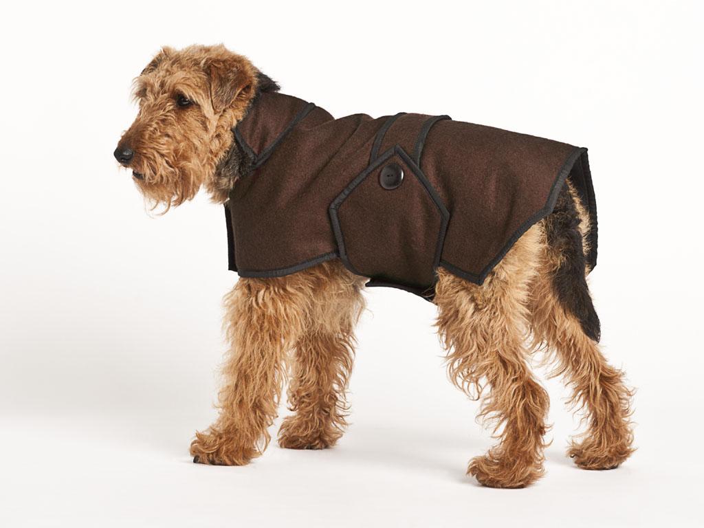 Wool Dog Coat photo - 1